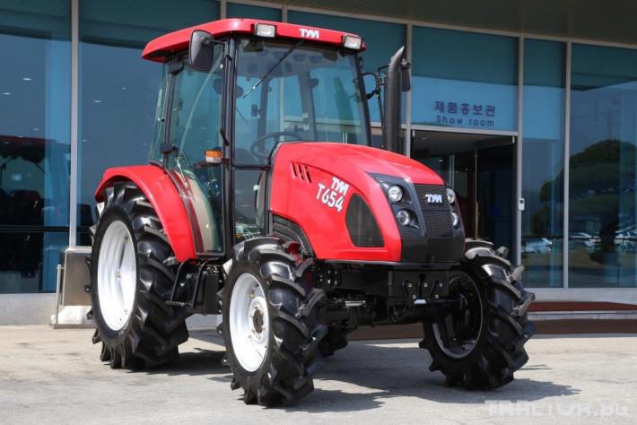 Трактори TYM Т654 0 - Трактор БГ